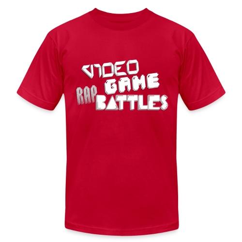Video Game Rap Battles Men's T-Shirt by American Apparel  - Men's  Jersey T-Shirt
