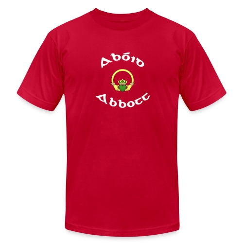 Abbott Family Claddagh Tee for Men - Men's Fine Jersey T-Shirt