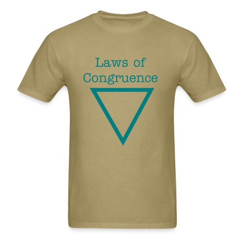 Laws Of Congruence EP Tee - Men's T-Shirt