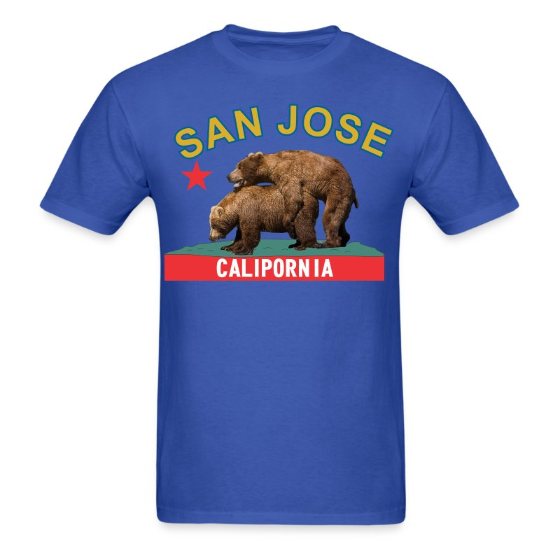 San Jose blue&gold - Men's T-Shirt