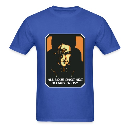 All your base are belong to us (Mens) - Men's T-Shirt