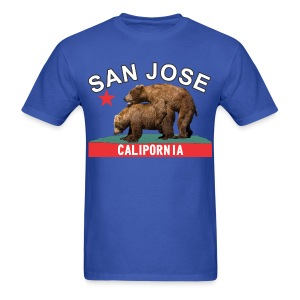 San Jose black&white - Men's T-Shirt