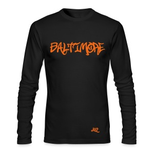 Baltimore HQ - Men's Long Sleeve T-Shirt by Next Level