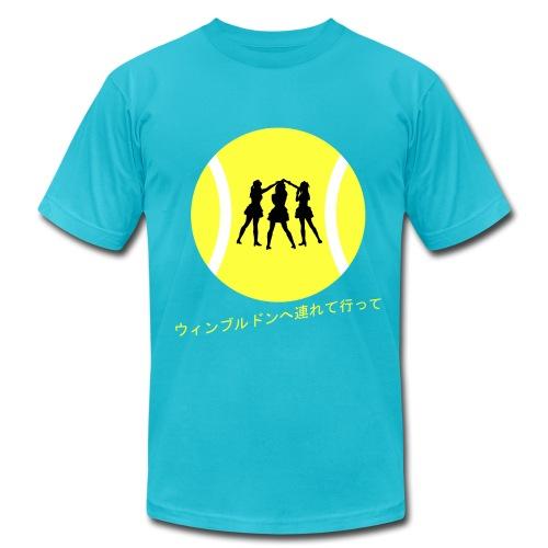 Wimbledon Turquoise - Men's  Jersey T-Shirt