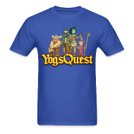 T-Shirts ~ Men's T-Shirt ~ Mens Tee: YogsQuest Adventurers