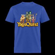 T-Shirts ~ Men's T-Shirt ~ Mens Tee: YogsQuest Adventurers