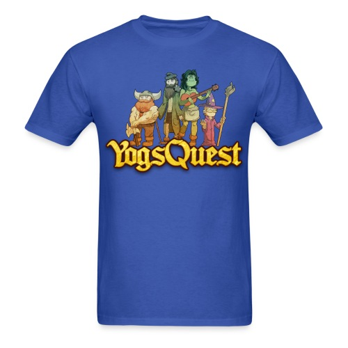 Mens Tee: YogsQuest Adventurers - Men's T-Shirt