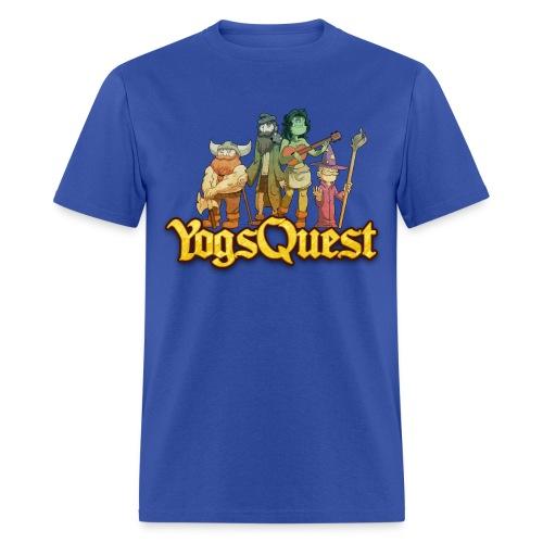 Mens Tee: YogsQuest Adventurers - Men's T-Shirt