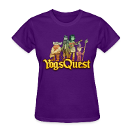 T-Shirts ~ Women's T-Shirt ~ Ladies Tee: YogsQuest Adventurers