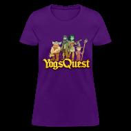 Women's T-Shirts ~ Women's T-Shirt ~ Ladies Tee: YogsQuest Adventurers