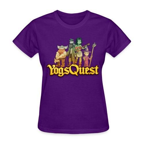 Ladies Tee: YogsQuest Adventurers - Women's T-Shirt