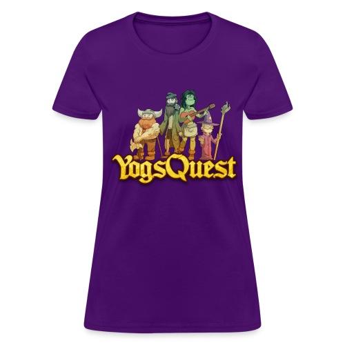 Ladies Tee: YogsQuest Adventurers - Women's T-Shirt