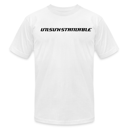 Unsuhstainable T-Shirt - Men's Fine Jersey T-Shirt