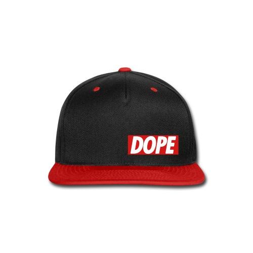 Dope FlatCap - Snap-back Baseball Cap