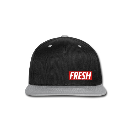 FreshFlatCap - Snap-back Baseball Cap