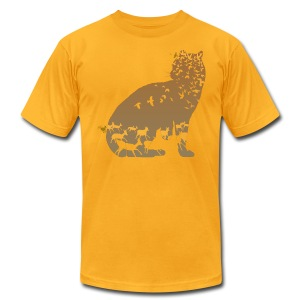 Ocelot - Men's T-Shirt by American Apparel