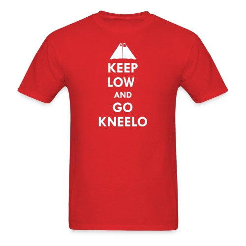 Keep Low Her Majesty - Men's T-Shirt