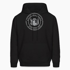 National Beard Association Grunge Mustache 1c Hoodies
