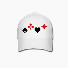 Ace of Spade Aces Hearts diamonds clubs 2c Caps