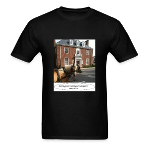 Carriage co. T (feat. Arron and Abe) - Men's T-Shirt