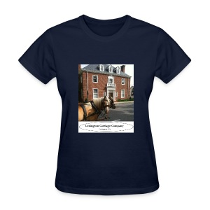 Carriage co. ladies T (feat. Arron and Abe) - Women's T-Shirt