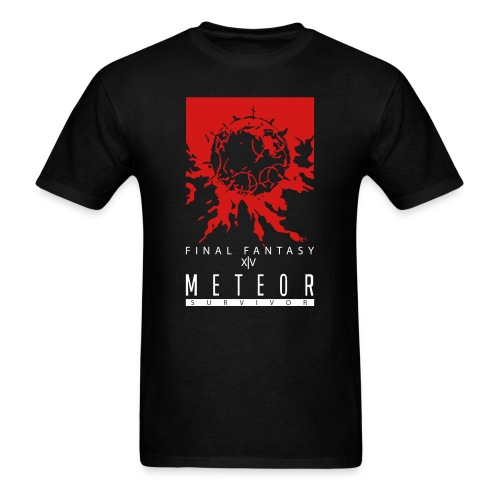 FFXIV:ARR Meteor Survivor Men's Standard T-Shirt - Men's T-Shirt