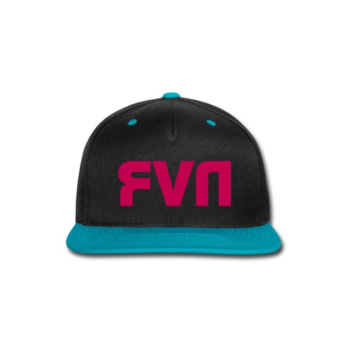 Black,Pink Never Snapback - Snap-back Baseball Cap