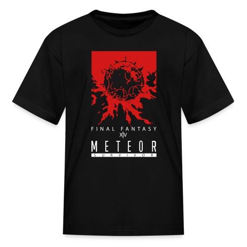 FFXIV:ARR Meteor Survivor Kid's T-Shirt - Kids' T-Shirt