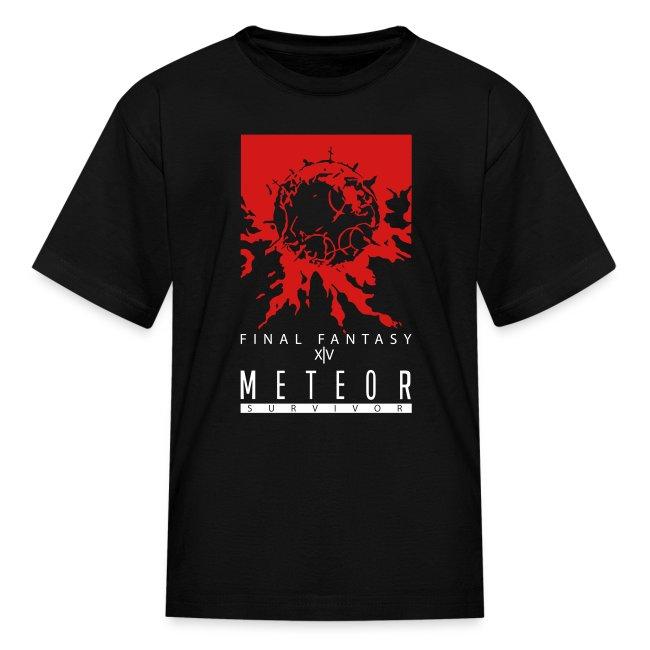 FFXIV:ARR Meteor Survivor Kid's T-Shirt