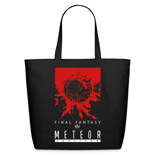 FFXIV:ARR Meteor Survivor Eco-Friendly Cotton Tote - Eco-Friendly Cotton Tote