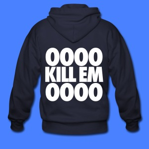 OOOO Kill Em OOOO Zip Hoodies & Jackets - Men's Zip Hoodie