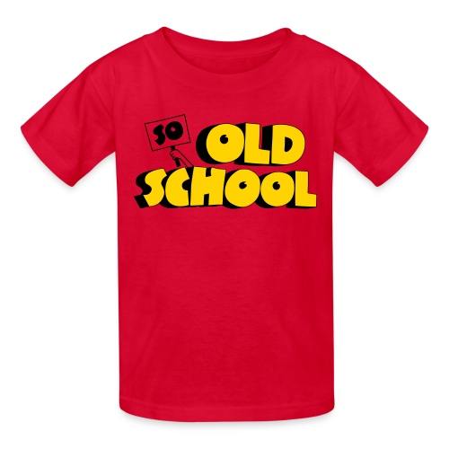 So Old School - Kids' T-Shirt