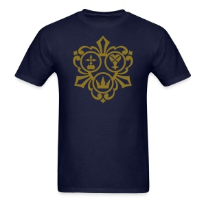 Kingdom Hearts (Metallic Gold) Men's Standard Weight T-Shirt - Men's T-Shirt