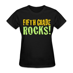 Fifth Grade Rocks - Women's T-Shirt