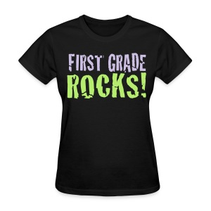 1st grade Rocks - Women's T-Shirt
