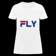 T-Shirts ~ Women's T-Shirt ~ Fly Girls Womens T Shirt