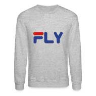 Long Sleeve Shirts ~ Crewneck Sweatshirt ~ Fly Crewneck Sweatshirt
