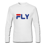 Long Sleeve Shirts ~ Men's Long Sleeve T-Shirt by American Apparel ~ Fly Long Sleeve Shirt