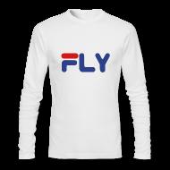 Long Sleeve Shirts ~ Men's Long Sleeve T-Shirt by American Apparel ~ Fly Long Sleeve Shirt