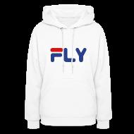 Hoodies ~ Women's Hoodie ~ Fly Girls Womens Hoodie Hooded Sweatshirt