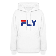 Hoodies ~ Women's Hoodie ~ Fly Girls Womens Hoodie Hooded Sweatshirt