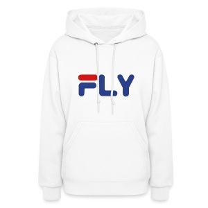 Fly Girls Womens Hoodie Hooded Sweatshirt - Women's Hoodie