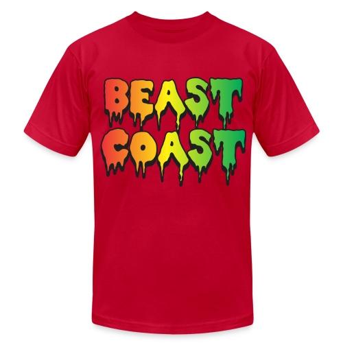 beast coast - Men's  Jersey T-Shirt