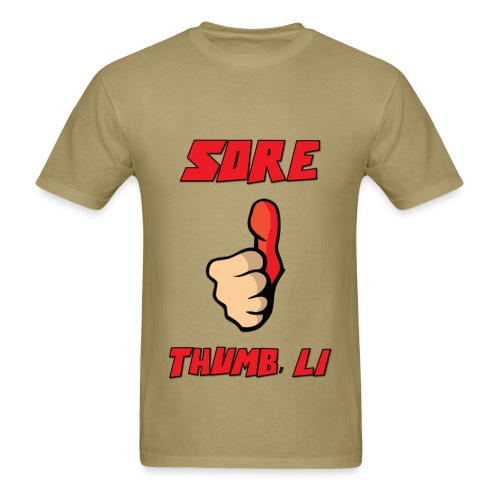 Sore Thumb, Long Island - Men's T-Shirt