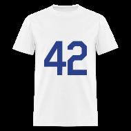 T-Shirts ~ Men's T-Shirt ~ Jackie Robinson 42 T Shirt
