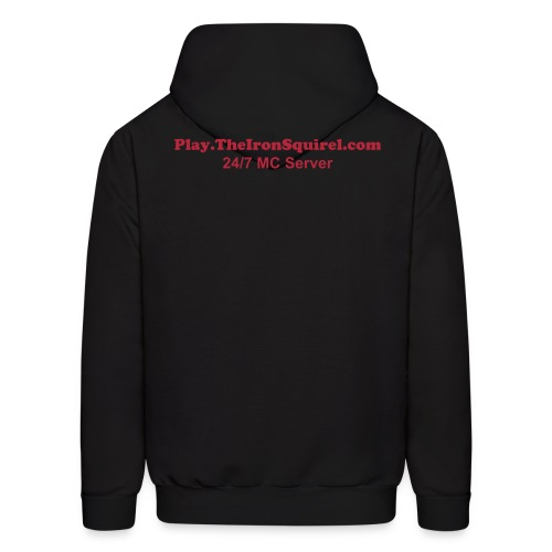 Play.TheIronSquirel.com Hoodie - Men's Hoodie