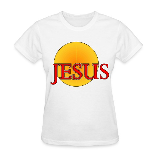 Jesus...Light of the World  - Women's T-Shirt