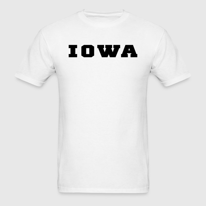 Iowa college t shirt spreadshirt for T shirts for college guys