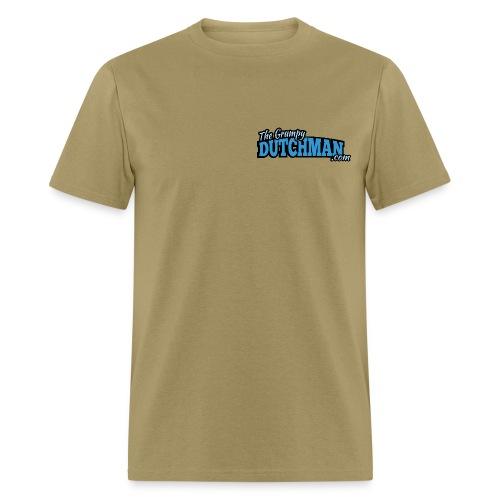 Grumpy Text Only Logo - Men's T-Shirt