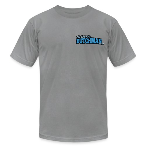 Grumpy Text Only Logo - Men's Jersey T-Shirt